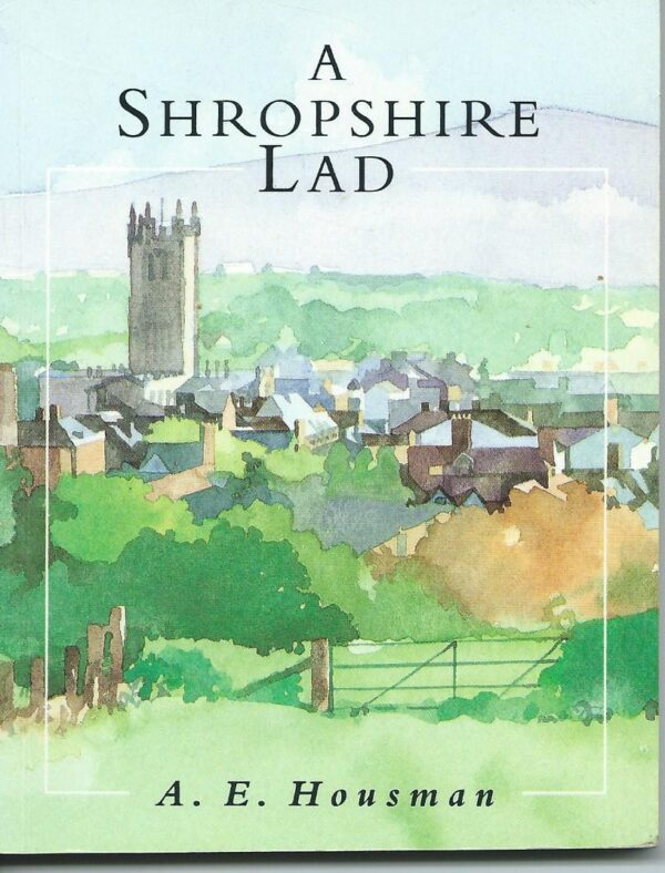 A Shropshire Lad the book cover