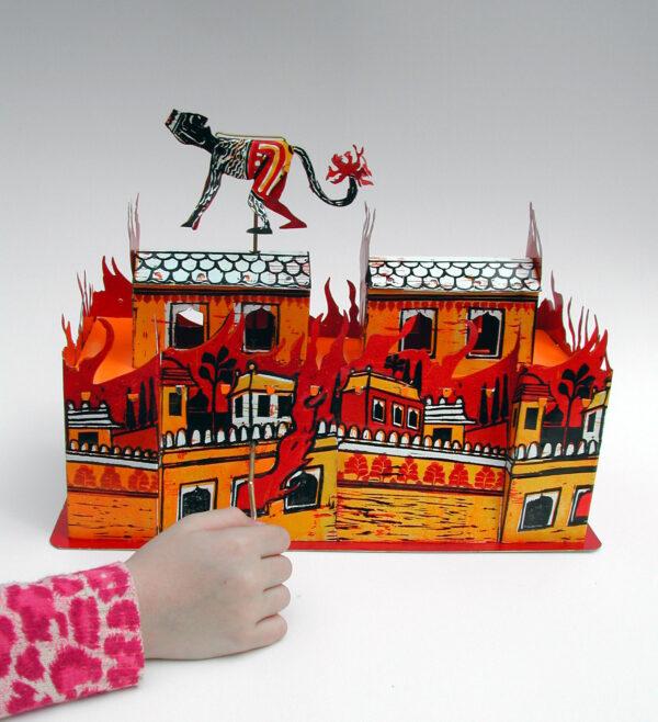 The Burning Of Lanka Automata