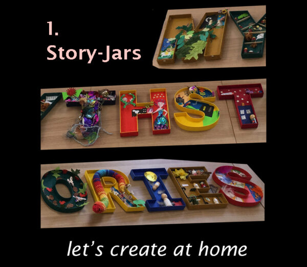 Let's Create at Home, Story-Jars image