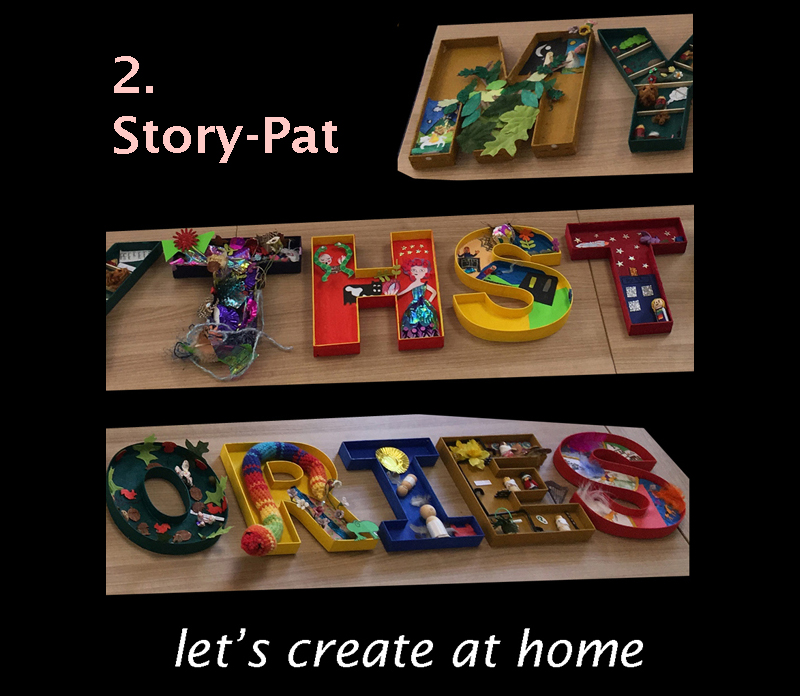 let's create at home - 2 Story-Pats image