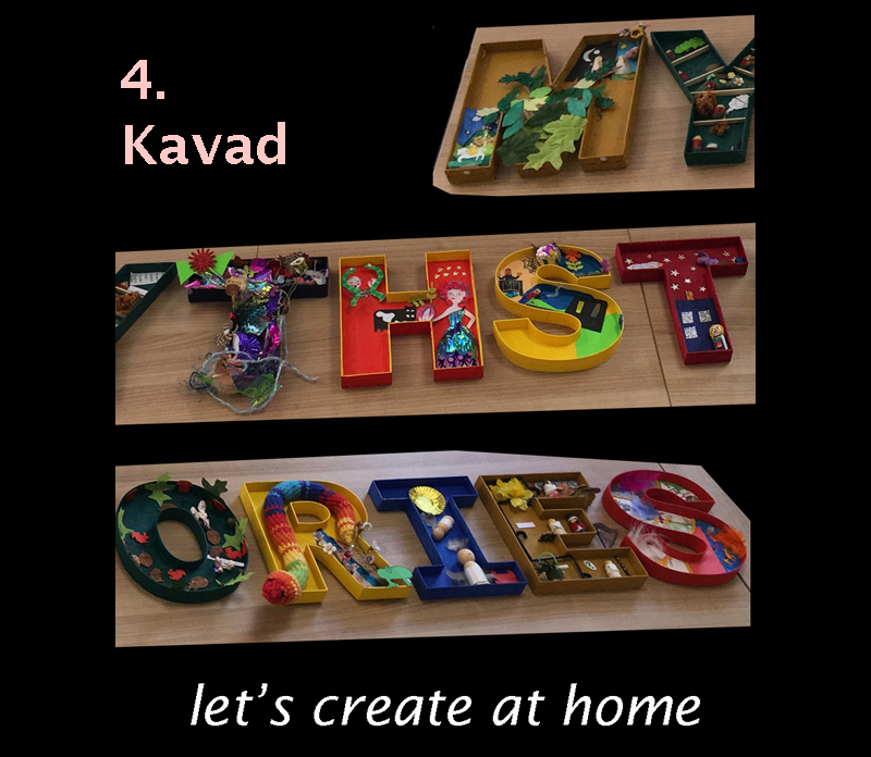 let's create at home - Kavad image