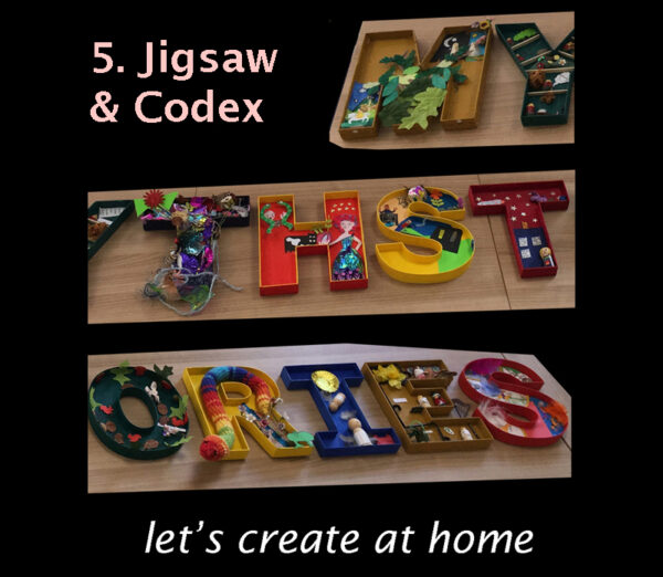 let's create at home - Jigsaw & Codex image