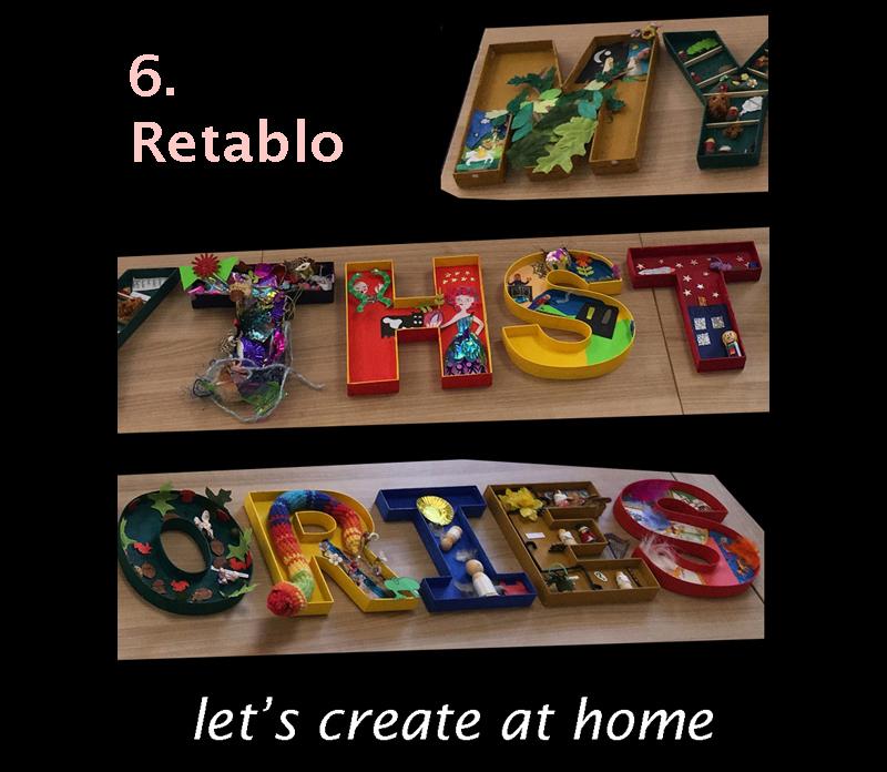 let's create at home - 6. Retablo image