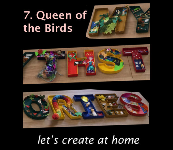 let's create at home - Queen of the Birds image