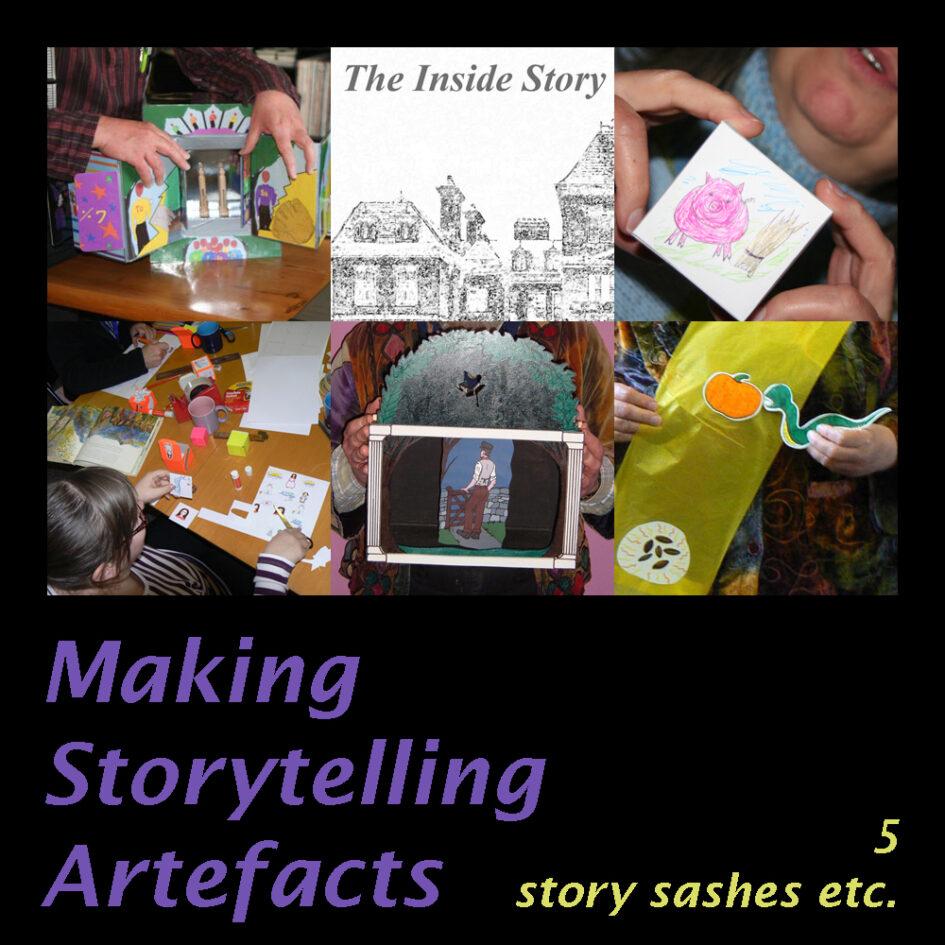 Making Storytelling Artefacts 5 Story Sashes etc. image