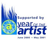 The Year of the Artist Logo