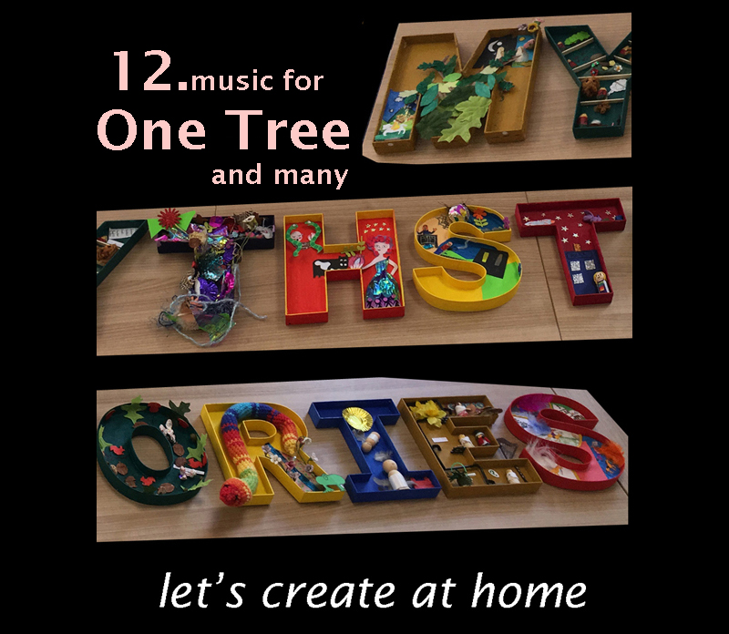 let's create at home - music for One Tree And Many image