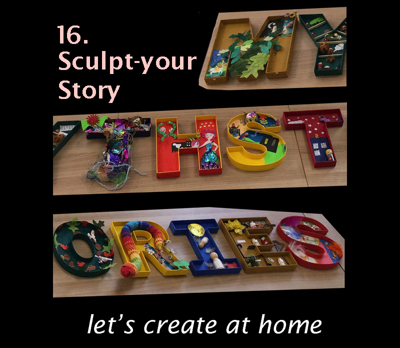 Let's create at home - Sculpt your story image